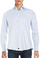 Strellson Printed Button-Front Sportshirt