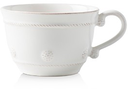 Juliska Berry & Thread Whitewash Coffee/Tea Cup