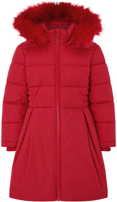 Under Armour Flared Padded Coat with Recycled Fabric Red