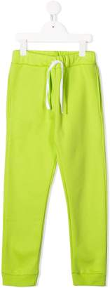 Paolo Pecora Kids brand patch track pants