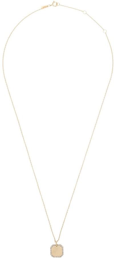 Adina Reyter 14kt Yellow Gold Diamond Pendant Necklace
