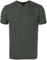 Emporio Armani intarsia knit T-shirt