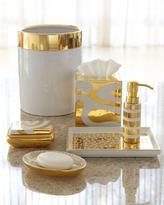 Waylande Gregory Porcelain & Gold Vanity Accessories