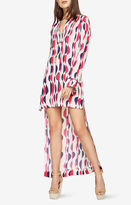 BCBGMAXAZRIA Kenley Deco-Printed Dress