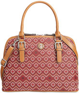 Giani Bernini Saffiano Graphic Dome Satchel, Only at Macy's