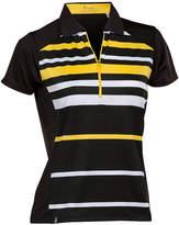 Asstd National Brand Nancy Lopez Golf Shock Short Sleeve Plus Polo