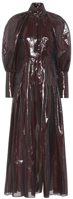 Ellery Contained metallic maxi dress