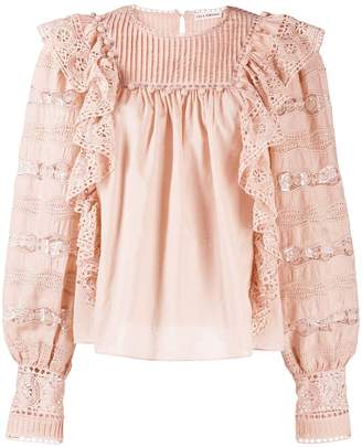 Ulla Johnson Lily broderie anglaise blouse