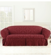 Sure Fit Matelasse Damask 1-Piece Sofa Slipcover