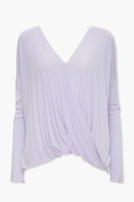 Forever 21 Surplice High-Low Top