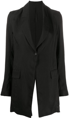 Masnada Oversized Textured Blazer Jacket