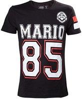 Nintendo Adult Mario 85 Streetwear American Football Jersey T-Shirt | L |