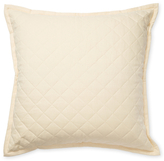 Ann Gish Linen Quilted Pillow
