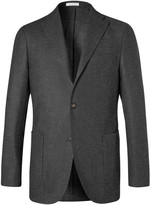 Boglioli - Charcoal K-jacket Slim-fit Wool Blazer