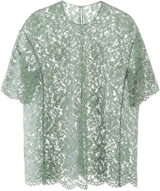 Valentino Loose Fit Lace T-Shirt