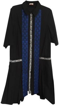 Suno Black Cotton Dresses