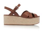Prada Woven Leather Sandals