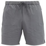 Jacques - Drawstring Performance Shorts - Mens - Grey