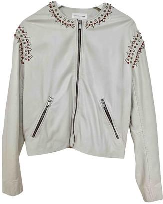 Etoile Isabel Marant \N Ecru Leather Jackets