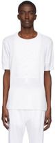 Takahiromiyashita Thesoloist. TAKAHIROMIYASHITA TheSoloist. White Bib T-Shirt