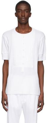 TAKAHIROMIYASHITA TheSoloist. White Bib T-Shirt