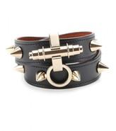 Givenchy Obsedia studded-leather wrap bracelet