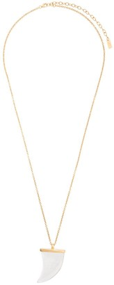 Saint Laurent Horn Pendant Necklace