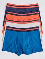 Marks and Spencer Cotton Rich Trunks with Stretch (18 Months - 16 Years)