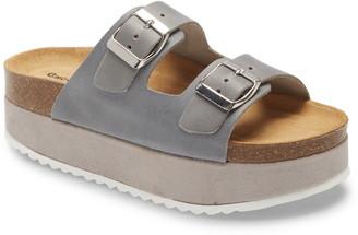 Chocolat Blu Alban Platform Slide Sandal