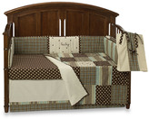 My Baby Sam Mad About Plaid in Blue Crib Bedding Ensemble