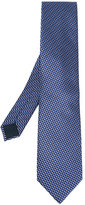 Lanvin geometric rectangle pattern tie