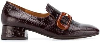 Chie Mihara Zazi crocodile loafers