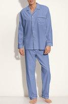 Majestic International Men's Herringbone Cotton Pajamas
