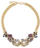 Roberto Cavalli snake necklace
