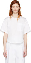 3.1 Phillip Lim White Poplin Pocket Top