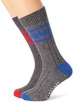 Firetrap Men's 2 Pack Chunky Socks