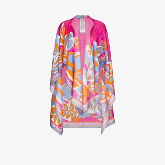 Emilio Pucci Printed Beach Cover-Up