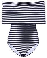 Araks Mena striped swimsuit