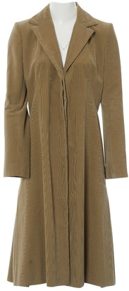 Chloé Brown Cotton Coat for Women