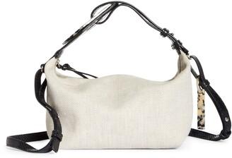 Ganni Slouchy Canvas Crossbody Bag