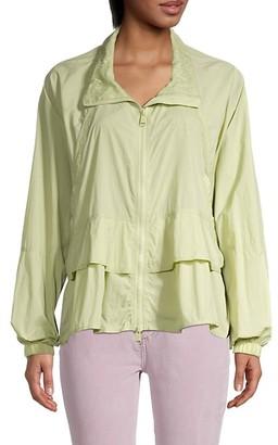 FREE PEOPLE MOVEMENT Namaslay Lace-Trim Jacket