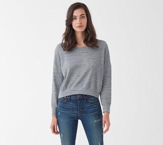 Splendid Thermal Cropped Sweatshirt