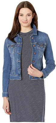 Mavi Jeans Samantha Jacket (Mid Shaded Stripe) Women's Jacket