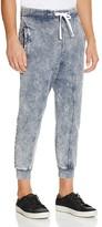 Eleven Paris Marble Wash Knit Jogger Pants
