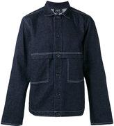 A.P.C. seaming detail denim jacket - men - Cotton - XL
