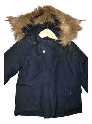 Woolrich Black Polyester Jackets & Coats