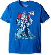 Goodie Two Sleeves Men's Transformers Optimus Prime Is Back Adult T-Shirt