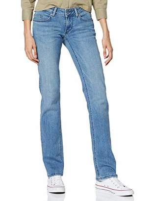 Mustang Women's Gina Straight Jeans,W27/L32 (Size: 27)
