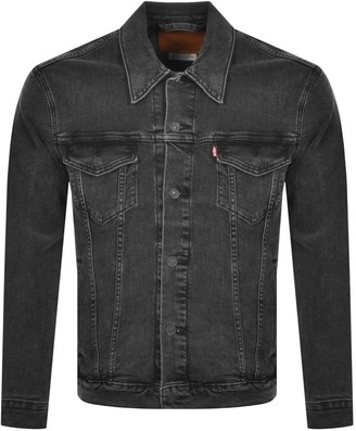 Levi's Levis Denim Trucker Jacket Black