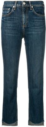 Rag & Bone Stove Pipe Jeans